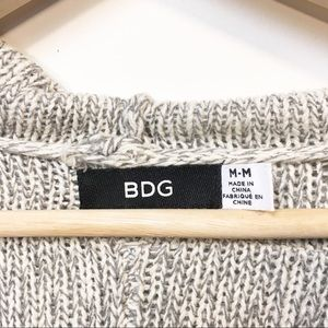 BDG Sweaters - BDG Hooded Slouchy Cardigan Sweater Med